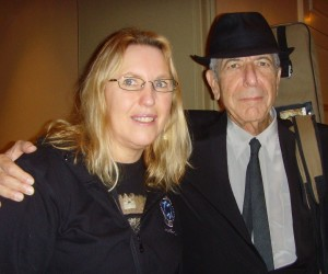Photo with Leonard Cohen!